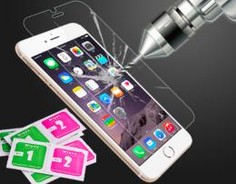 Tvrzené sklo na display s tvrdostí 9H pro iPhone 5, 5S, iPhone SE