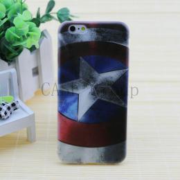 """""""Captain America"""" silikonový kryt pro iPhone 6, 6s - poslední kus! - zvìtšit obrázek"""