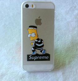 Obal Bart Simpson pro iPhone 4, transparentní - zvìtšit obrázek