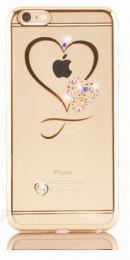 Stylové silikonové pouzdro pro iPhone 6, 6S s motivem