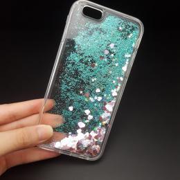 Obal na iPhone 5, 5s, iPhone SE, nový hit obalu s tekutinou - zvìtšit obrázek