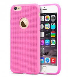 Silikonový obal pro iPhone 5, 5s, iPhone SE, rùžový