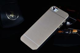 Ultratenký hliníkový kryt MOTOMO pro iPhone 5, 5s, iPhone SE zlatá