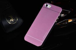 Ultratenký hliníkový kryt MOTOMO pro iPhone 5, 5s, iPhone SE rùžová
