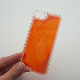 Svítící obal na iPhone 5, 5s, iPhone SE, nový hit obalu s tekutinou