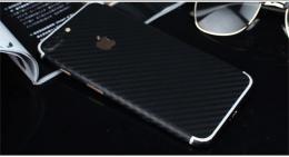 3D celotìlová carbon samolepka pro iPhone 6, 6s, èerná