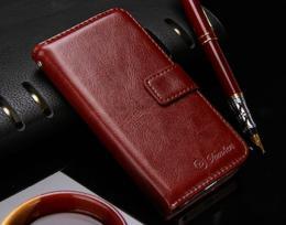 Kožené RETRO pouzdro na iPhone 5, 5s, iPhone SE, hnìdá