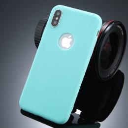Ultratenký silikonový obal iPhone X svìtle zelený - zvìtšit obrázek