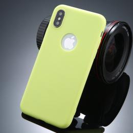 Ultratenký silikonový obal iPhone X zelený