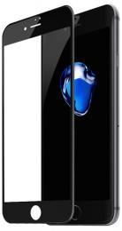 4D tvrzené sklo na iPhone 8, barva èerná, tvrdost 9H, tlouš�ka 0,3 mm