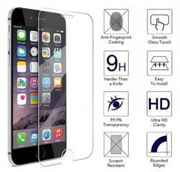 Tvrzené sklo na display s tvrdostí 9H pro iPhone 8