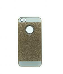 Elegantní kryt se tøpytkami na iPhone 5/5s, iPhone SE, zlatý