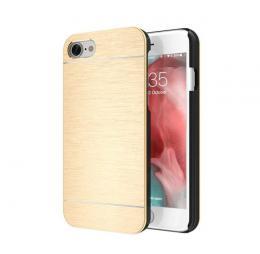 Ultratenký hliníkový kryt MOTOMO na iPhone 5/5s, iPhone SE, zlatý