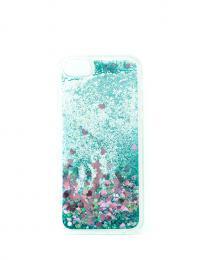 Obal na iPhone 5/5s, iPhone SE, nový hit obalu s tekutinou, barva modrá