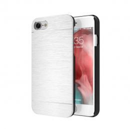 Ultratenký hliníkový kryt MOTOMO na iPhone 4, støíbrný