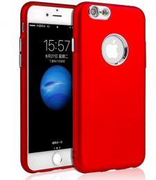 Silikonový obal na iPhone 5/5s, iPhone SE, èervený - zvìtšit obrázek