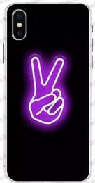 Silikonový obal na iPhone X, XS, s obrázkovým motivem