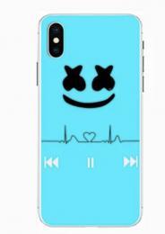 Silikonový obal DJ Marshmello na iPhone 5, 5s, iPhone SE