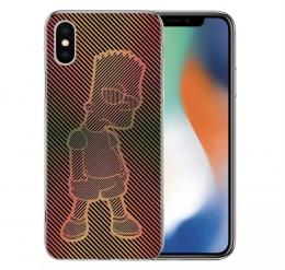 Obal Bart Simpson na iPhone 8