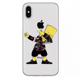 Obal Bart Simpson na iPhone 8 - zvìtšit obrázek