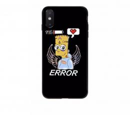 Obal Bart Simpson na iPhone 8