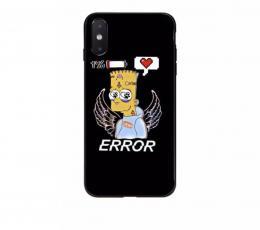 Obal Bart Simpson na iPhone 7