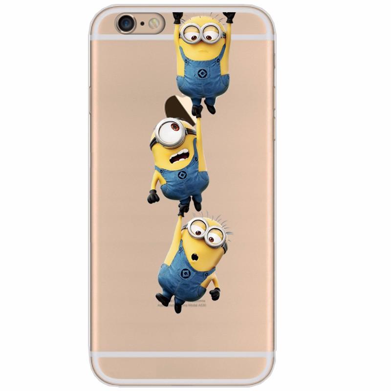 Silikonový kryt Mimoni na iPhone 4 04337240c5c