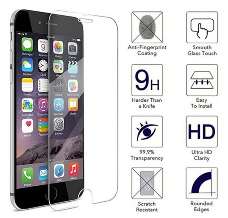 Tvrzené sklo na display s tvrdostí 9H pro iPhone 6/6s