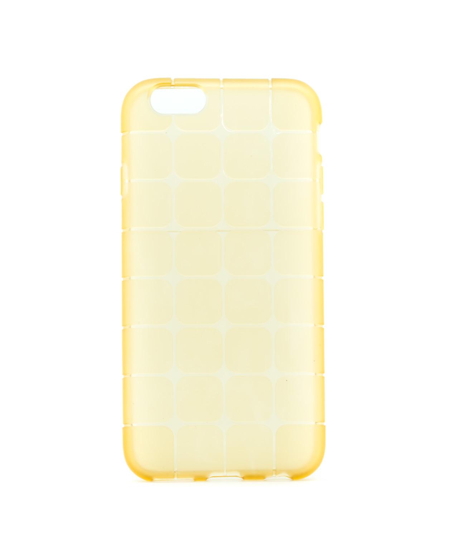 Silikonový obal s vyztuženými rohy na iPhone 6/6s, zlatý - poslední kus!