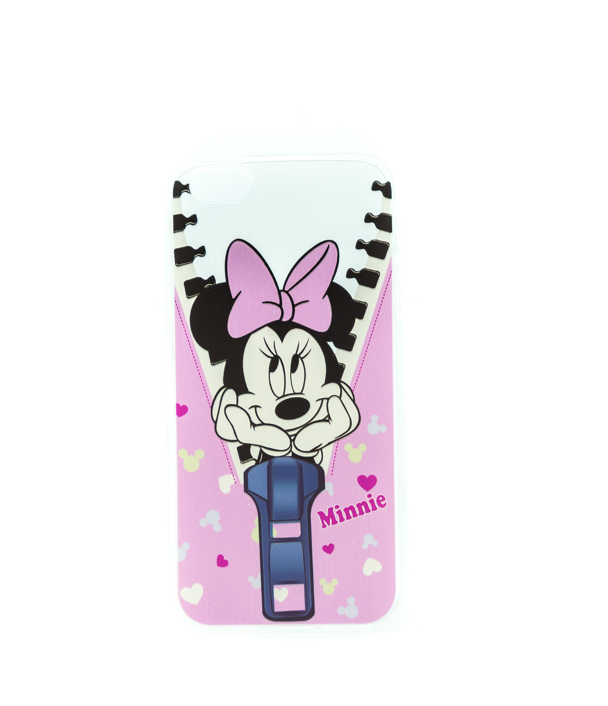 Obal Mickey Minnie na iPhone 5/5s, iPhone SE, transparentní