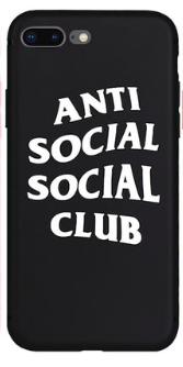 Silikonový obal ASSC na iPhone 7, èerný