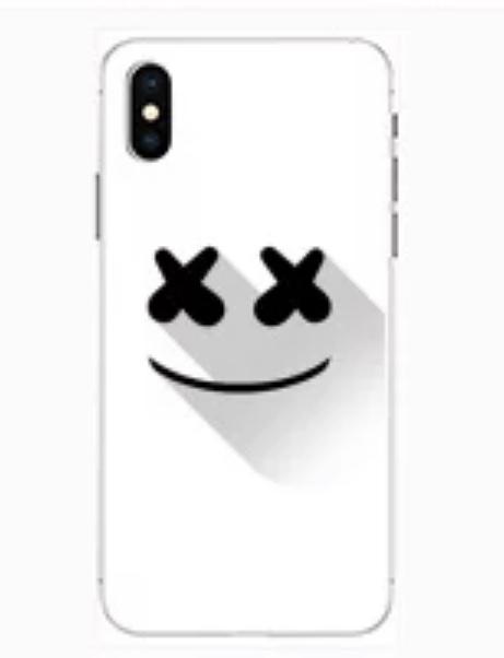 Silikonový obal DJ Marshmello na iPhone 8